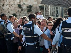 Again?: Ultra-Orthodox activists are calling for a massive protest against this month?s Women of the Wall prayer service at the Western Wall. Will violence erupt again?
