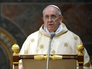 "Working Together: Pope Francis has vowed a ""spirit of renewed collaboration"" with Jews."