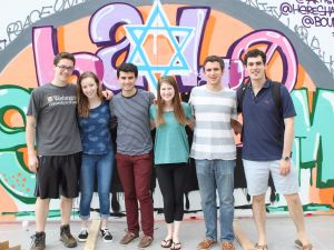 Jewish students at Washington University in St. Louis