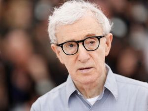 Woody Allen at the 2016 Cannes Film Festival.