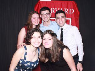 Jewish students at Harvard.