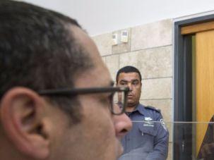 Jewish extremist Meir Ettinger goes on hunger strike.