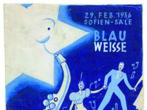 Poster of Hakoah ball 1936 [Jewish Museum Vienna]