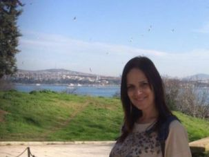 """Esty Weinstein, in an undated photo, a Haredi woman who committed suicide. She wrote about being independent, in recent years, as opposed to being a mother and having a life that was """"smashed to smithereens."""""""