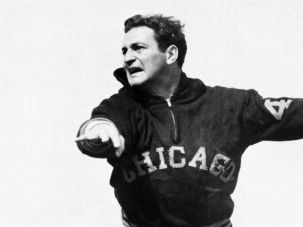First Monster of the Midway: Before he joined the Chicago Bears, Sid Luckman was a star at Erasmus Hall High School, then at Columbia University.