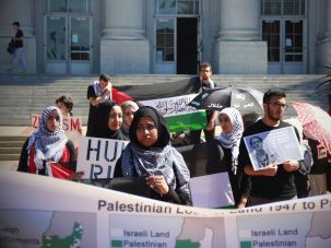 Students for Justice in Palestine at UC Berkeley.