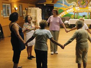 No Breakdancing: But senior campers at the Isabella Freedman Jewish Retreat Center still boogie during many dance classes offered in the summer.