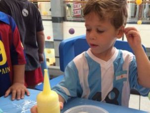 Littlest Victim: Daniel Tregerman, 4, became the first Israeli child killed in the Gaza war when a rocket struck his kibbutz.