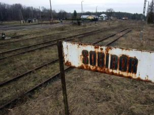 Secret Passage: A hidden tunnel leading out of the Sobibor concentration camp in Poland was discovered during an excavation.