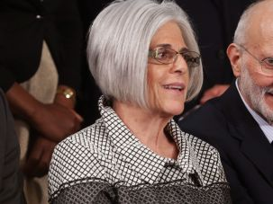 Alan and Judy Gross at 2015 State of the Union.