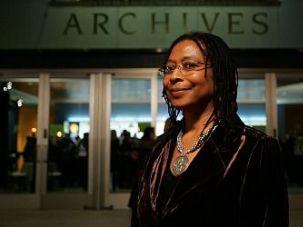 Pulitzer Prize-winning author Alice Walker.