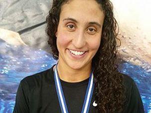 Israeli-American Olympic swimmer Andrea Murez
