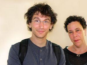 Asaf Schurr and Yael Hedaya