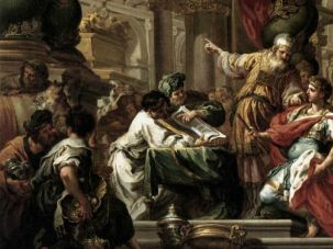 Sebastiano Conca: Alexander the Great in the Temple of Jerusalem