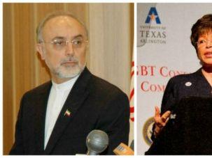 Secret chats? Ali Akbar Salehi, Valerie Jarrett