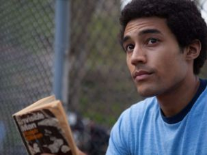 "Devon Terrell as Barack Obama in Netflix's ""Barry"""