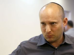 Jewish Home: Naftali Bennett, Israeli economy minister and head of the far-right Jewish Home party, is one of the sponsors of the new bill.