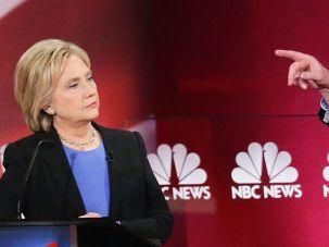 Bernie Sanders Hillary Clinton.