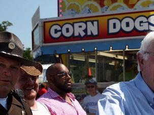 Sanders Iowa State Fair.