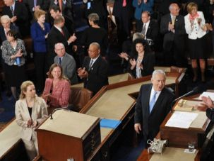 Standing Ovation? Netanyahu's last speech before Congress was in 2011.