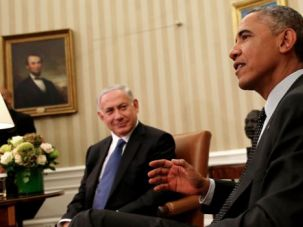 Old Married Couple: Bibi and Obama see the settlements differently.