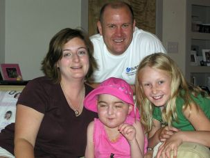 Dreaming With Dakota: After Dakota Bihn (pictured in pink in this 2007 photo with her family) was diagnosed with Juvenile Tay-Sachs, her father launched the Cure Tay-Sachs Foundation.