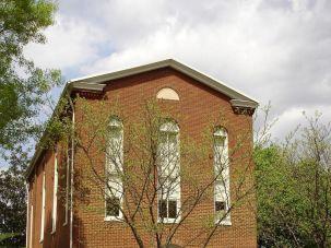 Former Adas Israel building in Washington, D.C. Photo courtesy of Julian Preisler.