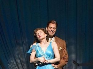 Donna Murphy and Christopher Innvar in ?The People in the Picture.?