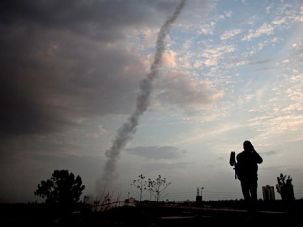 The New Normal?: An Israeli Iron Dome defense missile system was deployed during recent attacks.