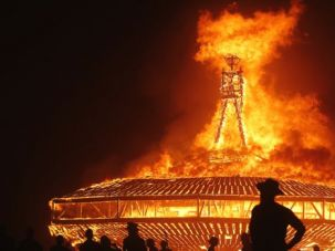 On Fire: Judaism should emulate DIY spirit of the Burning Man festival.
