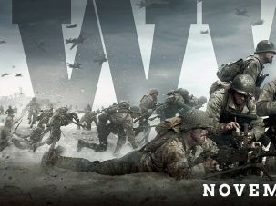 """A promotional image for the video game """"Call of Duty: WWII."""""""