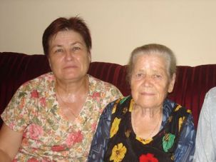 Torn Apart? Bat Yam resident Alona Sibuk?s mother and grandparents are pictured above. Sibuk?s grandparents will have to return to Moldova, after their visa expires on August 27.
