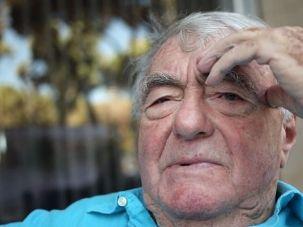 French Jewish filmmaker Claude Lanzmann