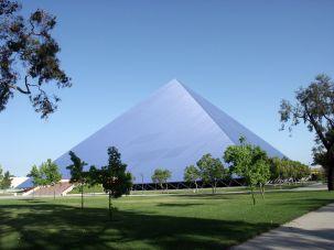 Walter Pyramid at California State University, Long Beach.