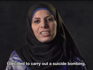 """A screengrab from the documentary """"Disturbing the Peace."""""""
