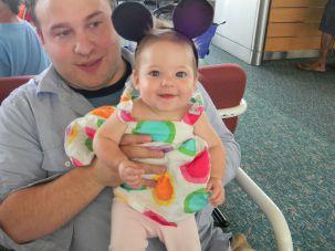 Seth Galena with his daughter Ayelet._