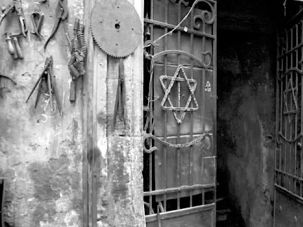Lingering Signs: Egypt?s Jews were expelled after Israel?s founding but their long presence remains visible in Cairo?s Harat Al-Yahud, or Jewish Quarter, abutting the city?s famous Al-Azhar Mosque.