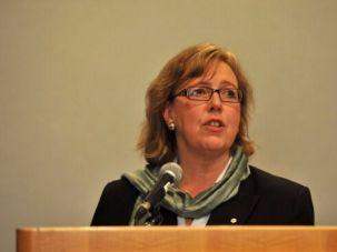 Canada's Green Party leader Elizabeth May.