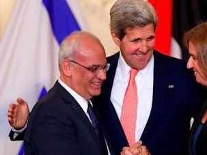 Talks: Kerry will arrive in Israel this week to continue peace negotiations.