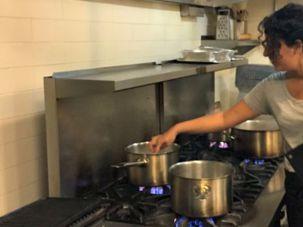 Jasmine Einalhori, chef and co-owner of Sage Kitchen.