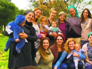 'A Kind of Sisterhood': Meir (seated at right of front row) was part of a Fertility Awareness Method class, a tightknit group who came together to educate themselves and then others.