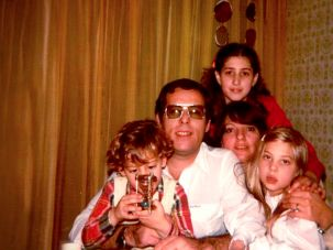 Laura Limonic and her family in Newton, Massachusetts.