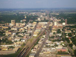 You Betcha: The skyline of Fargo, North Dakota.