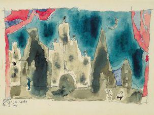 Untitled c. 1945, Lionel Feininger