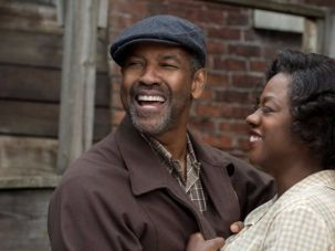 "Denzel Washington and Viola Davis in ""Fences"""