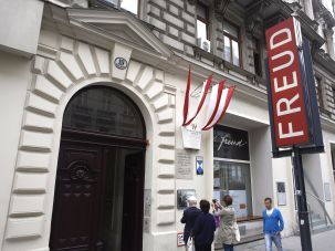The Sigmund Freud Museum in Vienna.