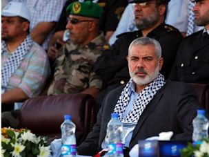 Ismail Haniyeh, prime minister of Gaza, calls for renewed dialog between Hamas and Abbas?s Fatah.