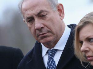 Bibi and Sara Netanyahu.