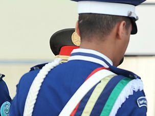 Saudi military graduation.