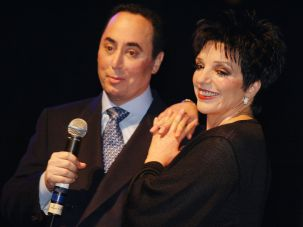 Happier Times: David Gest and Liza Minnelli together in 2002, the year they were married.